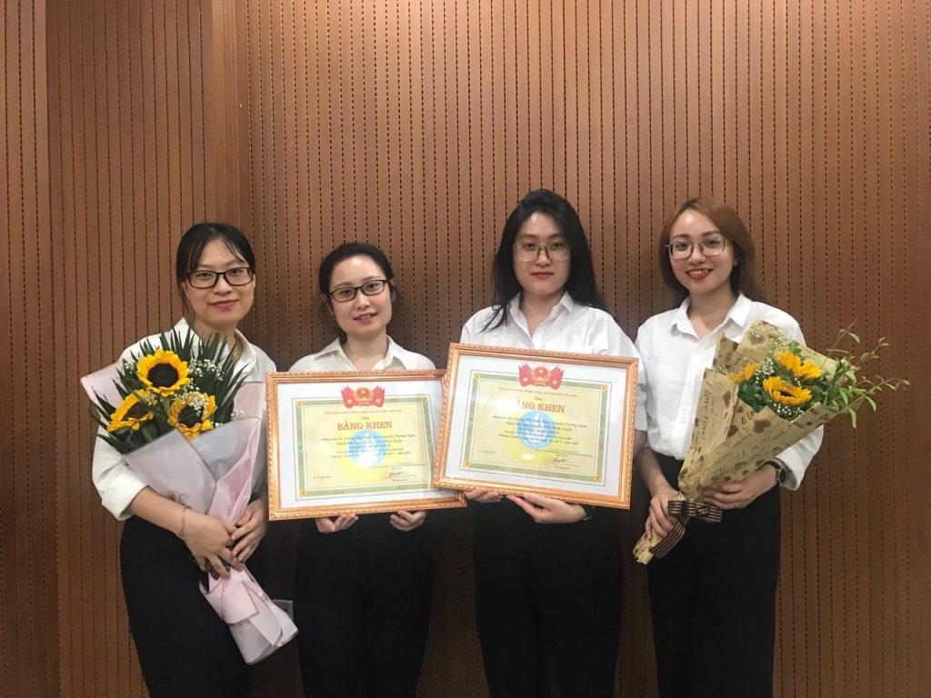 Sinh viên Bộ môn Toán đạt giải cao trong cuộc thi Olympic Kinh tế lượng lần thứ V – 2020
